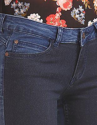 Elle Super Skinny Fit Colour Block Jeans