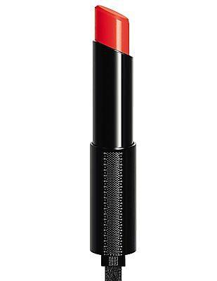 Givenchy Rouge Interdit Vinyl Colour Enhancing Lip Stick - #8 Orange Magnetique