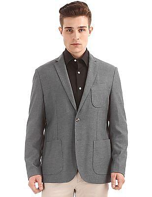 U.S. Polo Assn. Slim Fit Patterned Blazer