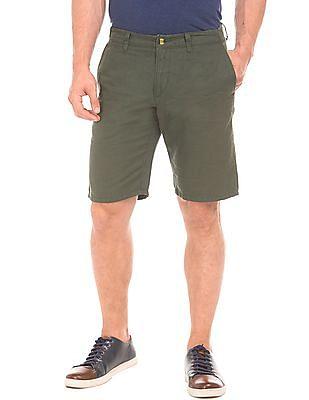 U.S. Polo Assn. Slim Fit Linen Shorts