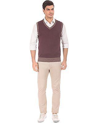 Arrow Heathered Merino Wool Sweater