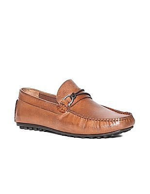 discount shop best quality reliable quality Buy MenTextured Leather Loafers online at NNNOW.com