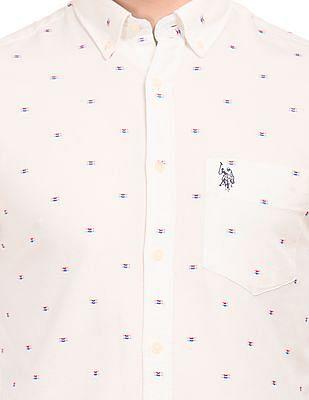 U.S. Polo Assn. Embroidered Oxford Shirt
