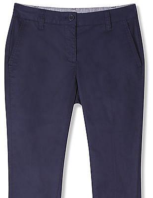 Nautica Solid Stretch Capri Trousers