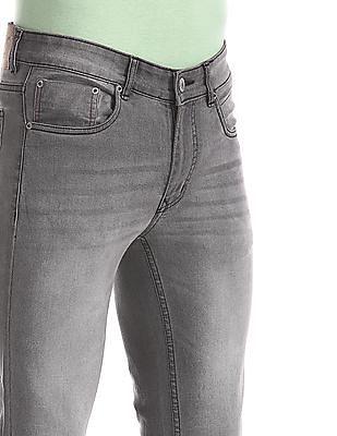 Cherokee Grey Slim Fit Faded Jeans