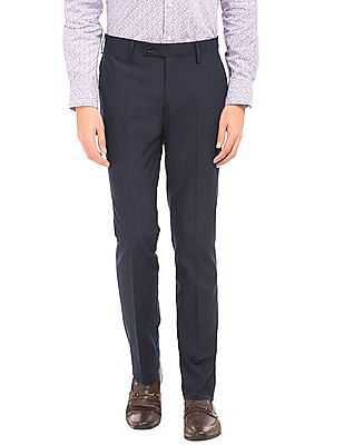 Arrow Mid Rise Slim Fit Trousers