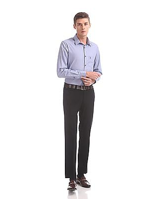 USPA Tailored Tailored Regular Fit Dobby Shirt