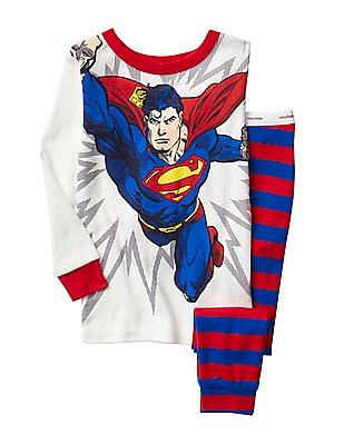 GAP Baby Superman Sleep Set