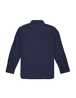 U.S. Polo Assn. Kids Boys Solid Button Down Shirt