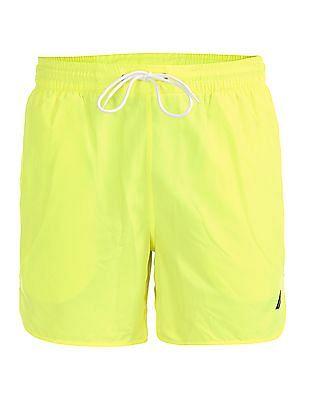 Nautica Solid Quick Dry Swim Shorts