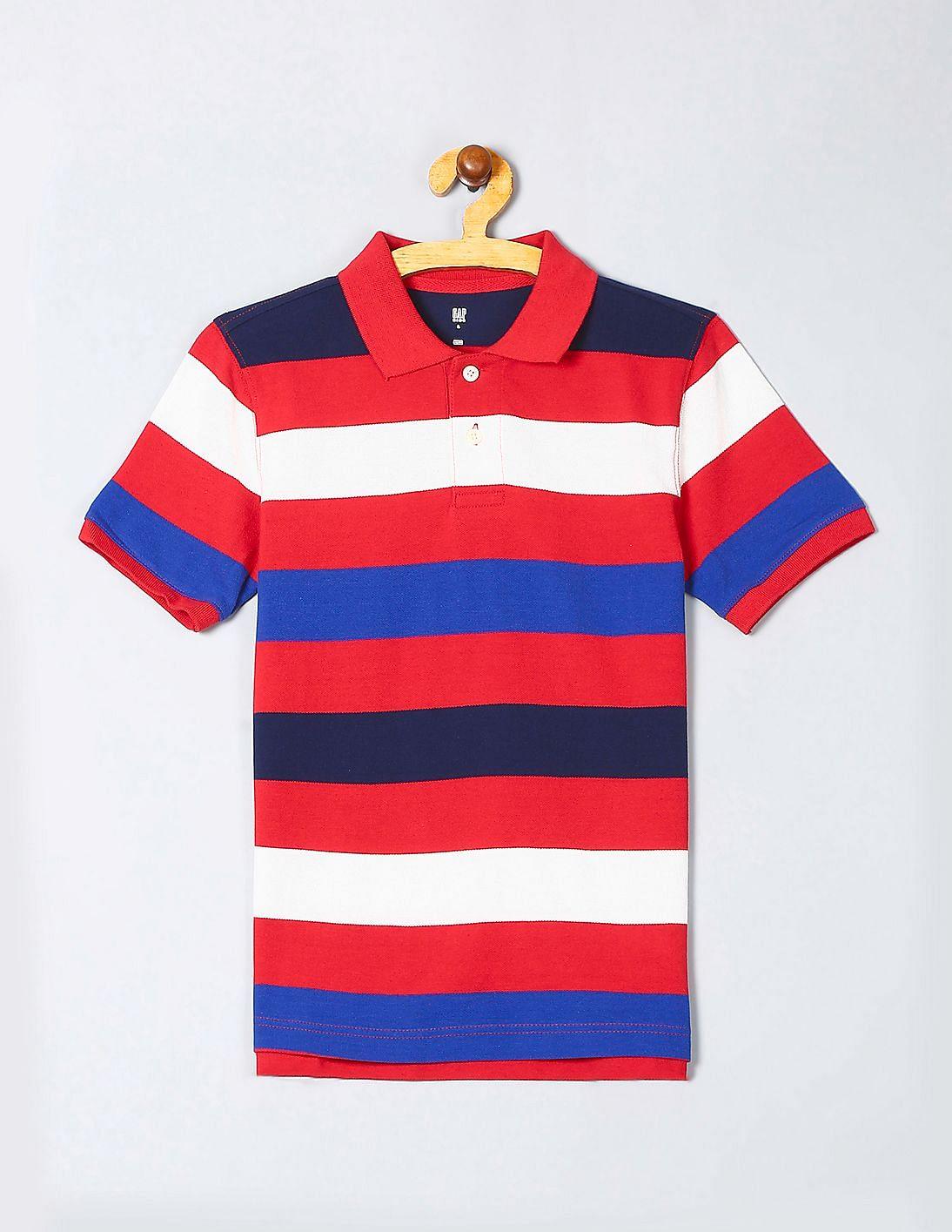9b9527d5 Buy Boys 000000040022356600 Modern Red Boys T-Shirt online at ...