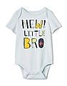 GAP Baby Short Sleeve Graphic Bodysuit