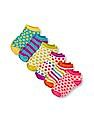 The Children's Place Girls Assorted Printed Ankle Socks 6-Pack