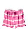GAP Girls Tie Dye Drapey Shorts
