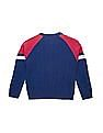 U.S. Polo Assn. Kids Boys Cable Knit Regular Fit Sweater