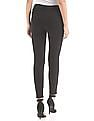 Aeropostale Solid High Rise Jeggings