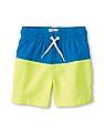 The Children's Place Toddler Boy Colour-block Swim Trunks