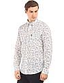 U.S. Polo Assn. Floral Print Linen Cotton Shirt