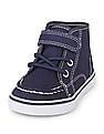 The Children's Place Boys Blue Mid Top Sneakers