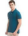 Arrow Striped Regular Fit Polo Shirt