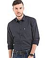 Izod Polka Print Slim Fit Shirt