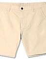 Aeropostale Solid Woven Shorts