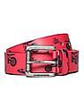 Flying Machine Leather Printed Belt