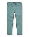 The Children's Place Boys Solid Skinny Chino Pants