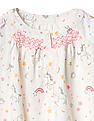 GAP Baby White Sparkle Unicorn Smock Top