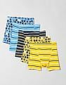 GAP Boys Assorted Sporty Boxer Brief Trunks - Pack Of 5