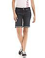 Aeropostale Stone Wash Denim Shorts