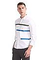 Colt Contrast Stripe Cotton Shirt