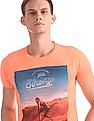 Flying Machine Regular Fit Graphic T-Shirt