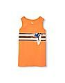 The Children's Place Boys Orange Place Sport Sleeveless Graphic Tank Top