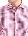 USPA Tailored Tailored Fit Checked Shirt