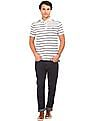 U.S. Polo Assn. Denim Co. Striped Button Down Polo Shirt