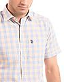 U.S. Polo Assn. Denim Co. Tailored Fit Check Shirt