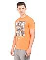Aeropostale Graphic Print Round Neck T-Shirt