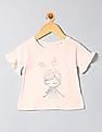 GAP Toddler Girl Pink Graphic Flutter T-Shirt