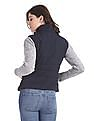 Aeropostale High Neck Quilted Gilet Jacket