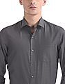 Arrow Newyork Slim Fits Me Patterned Weave Shirt