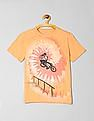 GAP Boys Tie-Dye Graphic Short Sleeve T-Shirt