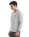 Arrow Sports Crew Neck Heathered Sweatshirt