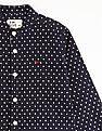 FM Boys Boys Mandarin Collar Printed Shirt