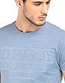 Ed Hardy Heathered Crew Neck T-Shirt