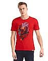 Colt Red Crew Neck Black Panther Graphic T-Shirt