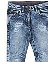 U.S. Polo Assn. Kids Girls Washed Slim Fit Jeans