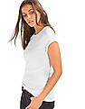GAP Women White Modern Crew Tee