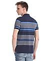 U.S. Polo Assn. Stripe Pique Polo Shirt