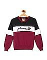 Cherokee Girls Colour Block Crew Neck Sweatshirt